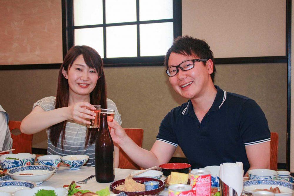 社員旅行 沖縄 宴会1